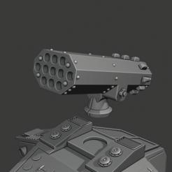 Download free 3D model Lucius Pattern Apocalypse Launcher, Cornivius