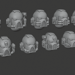 Firstborn_Heads_-_Strategic_Team_version.png Download free STL file Firstborn Heads - Strategic Team version • 3D printing model, Red-warden-miniatures