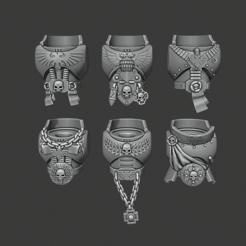 Imprimir en 3D gratis Torsos de primogénito - Veterinarios de Strictwatch, Cornivius