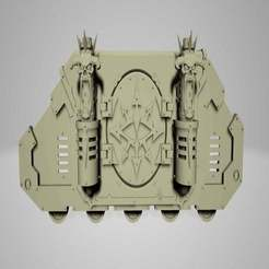 IMG_20190909_1407043.jpg Download free STL file Chaos Transport Side Armour • 3D printing model, Cornivius