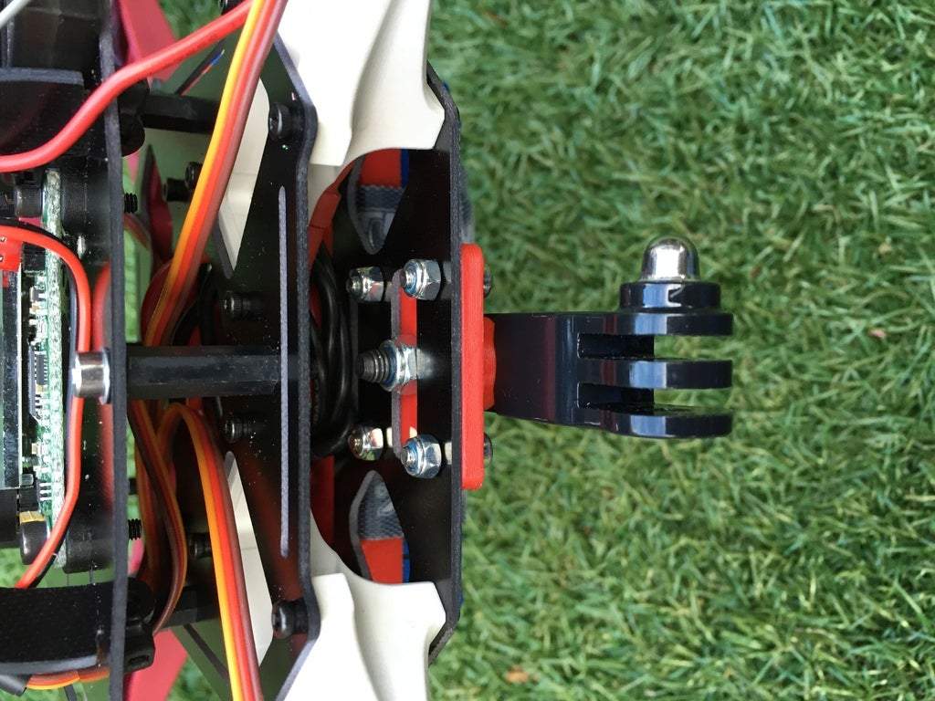 IMG_2134_display_large.JPG Download free STL file Sk450 quadcopter gopro mounting bracket • 3D print object, procreator3D