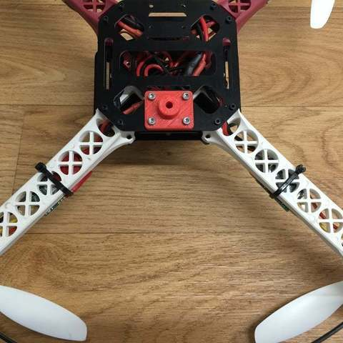 IMG_2112_display_large.JPG Download free STL file Sk450 quadcopter gopro mounting bracket • 3D print object, procreator3D