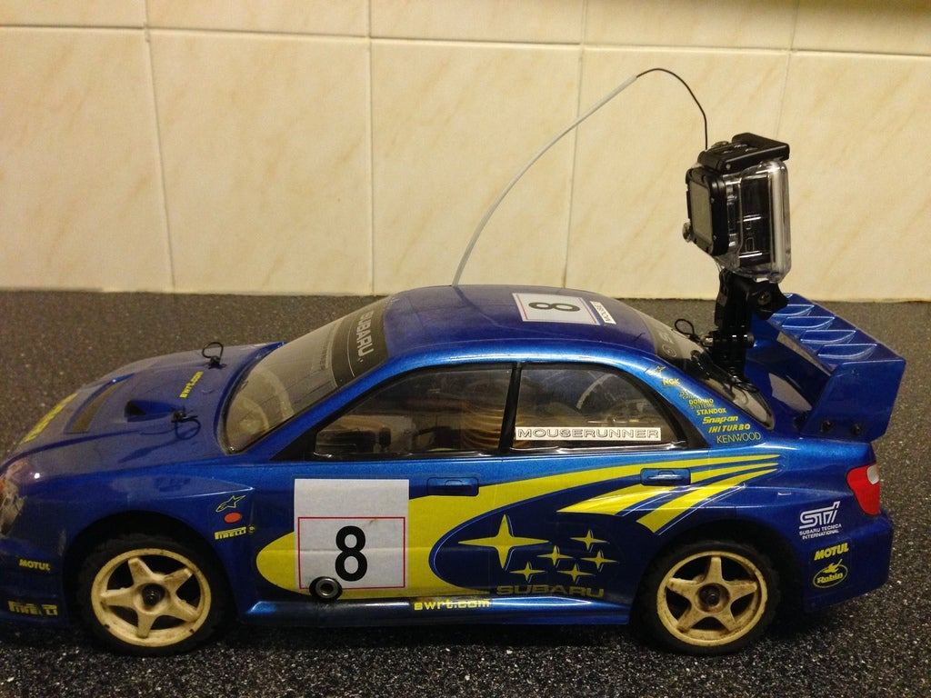 IMG_0508_display_large.jpg Download free STL file Gopro Kyosho RC car rear mount • Model to 3D print, procreator3D
