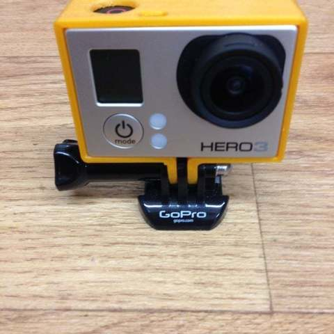 Download free 3D printer templates gopro hero3 light frame scaled, procreator3D
