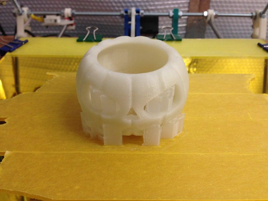 IMG_0136_display_large.jpg Download free STL file Jack o lantern pumpkin for battery tea light • 3D print model, procreator3D