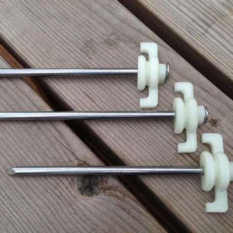 Download free 3D printing models Tent peg and cable spike