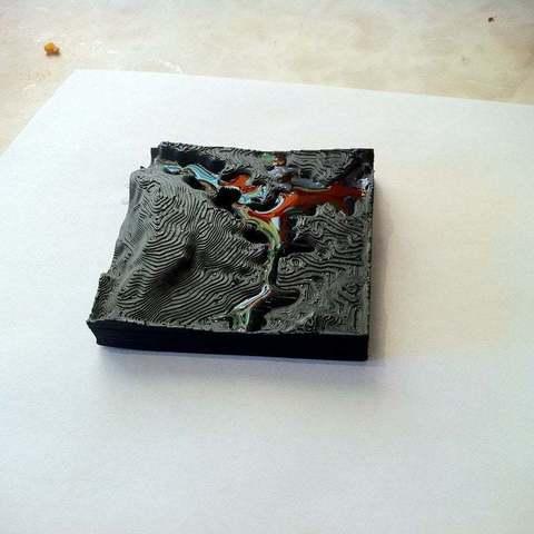 Télécharger fichier 3D gratuit Topographie des lacs et des montagnes, dodoharrylazarus