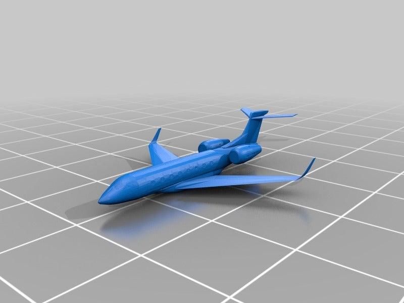 G650ER_-_no_wheels_-_small_display_large.jpg Download free STL file Gulfstream G650ER • Object to 3D print, dodoharrylazarus