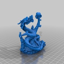 Download free 3D printer templates Dragon by Artec - Printable, dodoharrylazarus