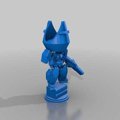 23b47a87b7880a788688e0b265fc2c7a_display_large.jpg Download free STL file Gundam Chess set • 3D printing model, Peanut3DButter