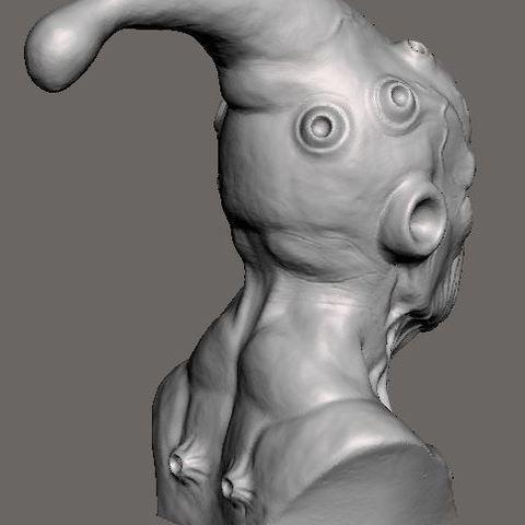c0e211d0966aa7be92da5a44bbc43106_display_large.JPG Download free STL file Majin buu DBZ sculpt • Template to 3D print, Peanut3DButter