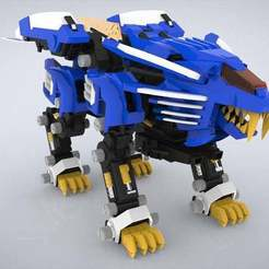 Download free 3D printer model Zoids: Blade Liger p2, Peanut3DButter