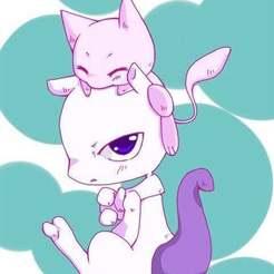 Télécharger fichier impression 3D gratuit Pokémon : Support de téléphone Mew et Mewtwo, Peanut3DButter