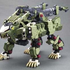 Download free 3D printer model Zoids: Liger Zero Panzer, Peanut3DButter