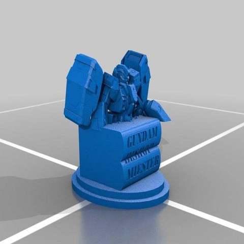 f8240bd9e842186cbe82406e82d357ae_display_large.jpg Télécharger fichier STL gratuit Gundam Chess Pieces partie 2 • Modèle imprimable en 3D, Peanut3DButter