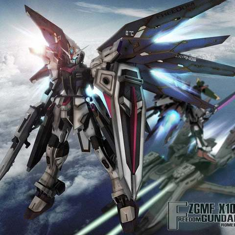 Télécharger modèle 3D gratuit Gundam sur mesure : La liberté a inspiré Gundam sans ailes., Peanut3DButter