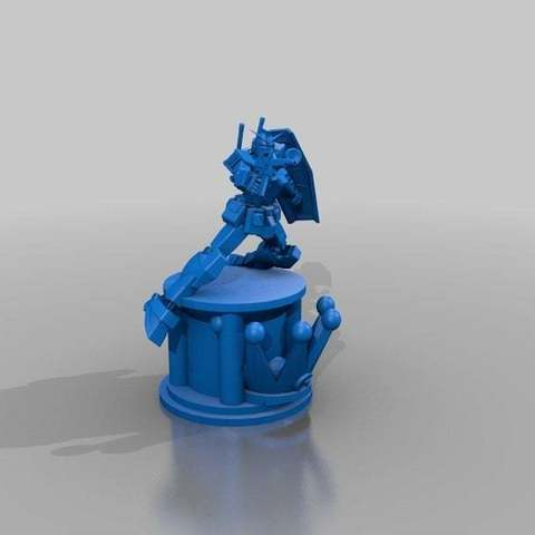 5b564b5eeeda92b764ca873950dea80c_display_large.jpg Download free STL file Gundam Chess set • 3D printing model, Peanut3DButter