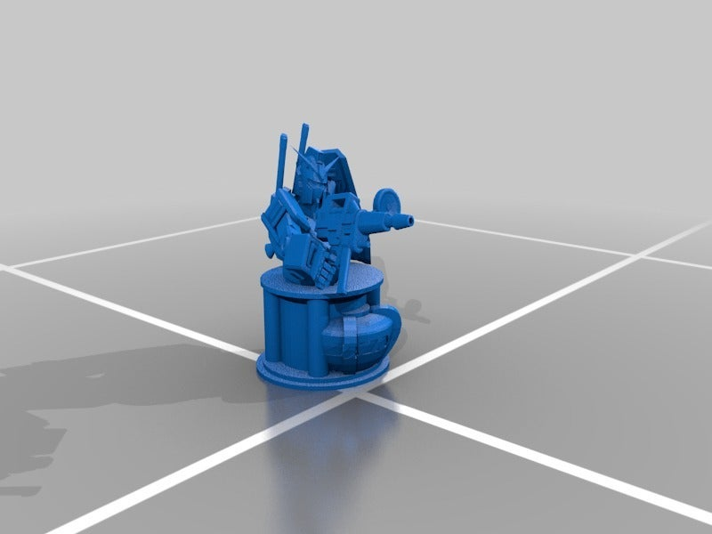 e7812ad1aa9a9b5b80e8c0a16823627b_display_large.jpg Télécharger fichier STL gratuit Gundam Chess Pieces partie 2 • Modèle imprimable en 3D, Peanut3DButter