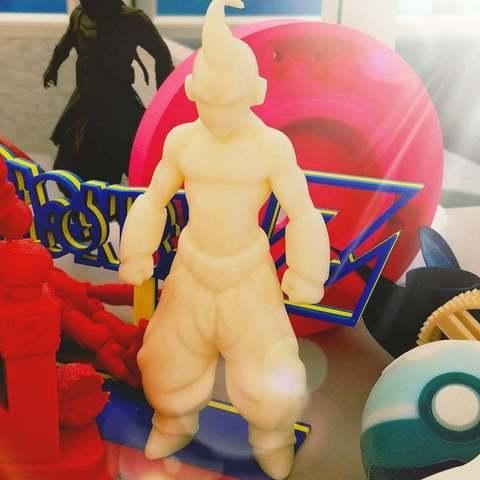 Imprimir en 3D gratis Dragonball z Kid Buu, Peanut3DButter