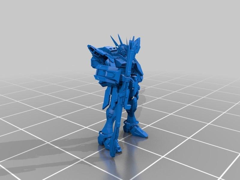 3b0a9c2460c66e6fa151f92a8c2c31ef_display_large.jpg Download free STL file Custom Gundam: Freedom inspired Gundam minus wings. • 3D print object, Peanut3DButter