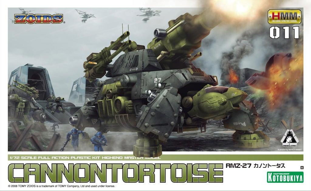 e64576a59e24a7d2cec5fba8f8255c55_display_large.jpg Download free STL file Zoids: HMM ZOIDS 1/72 RMZ-27 Cannon Tortoise • 3D printing template, Peanut3DButter
