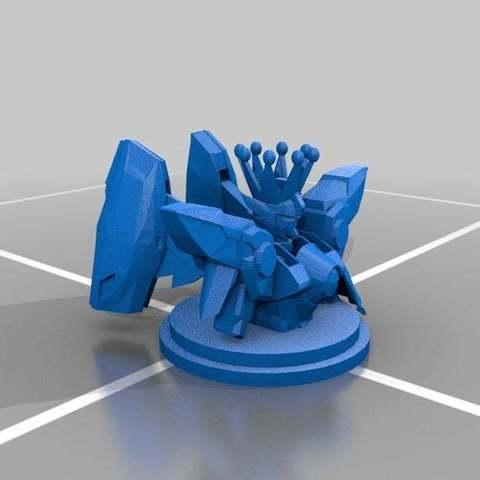 39ab3fbb6fcfa38aec3a237a4ea72819_display_large.jpg Télécharger fichier STL gratuit Gundam Chess Pieces partie 2 • Modèle imprimable en 3D, Peanut3DButter