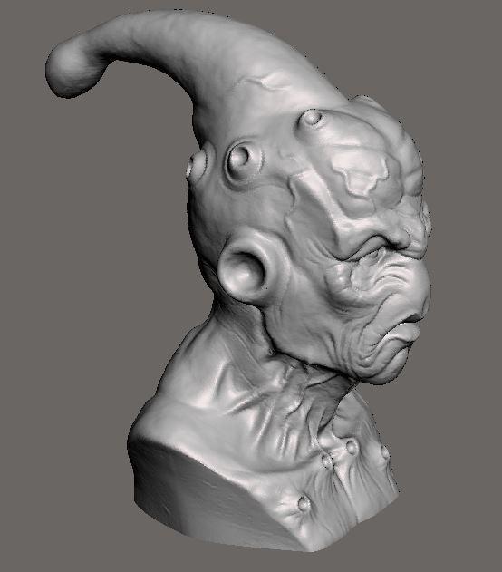 6a472093af3e7224d10e79a9e6438e62_display_large.JPG Download free STL file Majin buu DBZ sculpt • Template to 3D print, Peanut3DButter