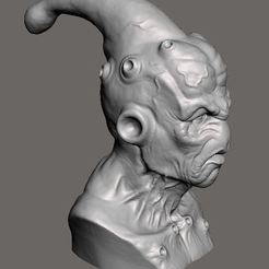 Download free 3D printing models Majin buu DBZ sculpt, Peanut3DButter
