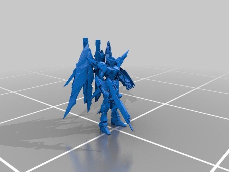 61a168b1821d722b851bd8e055fe3df2_display_large.jpg Télécharger fichier STL gratuit Gundam : Construction métallique Destiny Gundam • Design à imprimer en 3D, Peanut3DButter