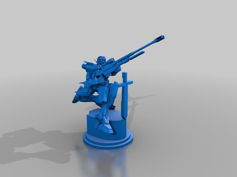 e99b4c8c6524bd6e7e647c65076fd0d4_display_large.jpg Download free STL file Gundam Chess set • 3D printing model, Peanut3DButter