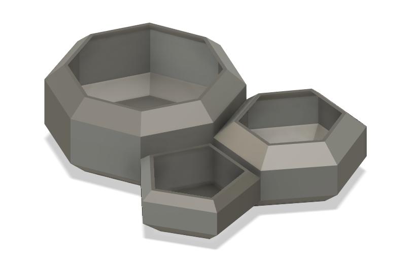 Screenshot_26.png Télécharger fichier STL gratuit Pots de pierres précieuses • Plan pour impression 3D, Isi8Bit