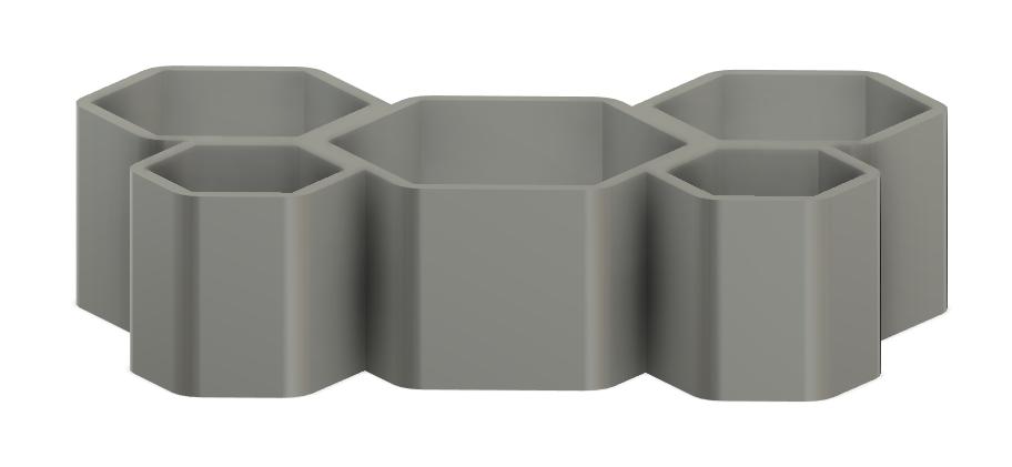 Screenshot_24.png Download free STL file Honeycomb Pot • 3D printer template, Isi8Bit