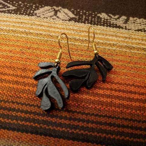 Download free 3D printer designs Minimal Leaves, Isi8Bit
