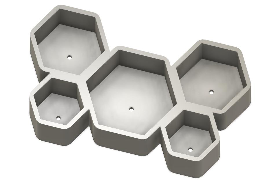Screenshot_22.png Download free STL file Honeycomb Pot • 3D printer template, Isi8Bit