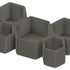 Download free STL file Honeycomb Pot • 3D printer template, Isi8Bit