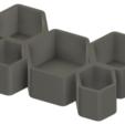Screenshot_23.png Download free STL file Honeycomb Pot • 3D printer template, Isi8Bit