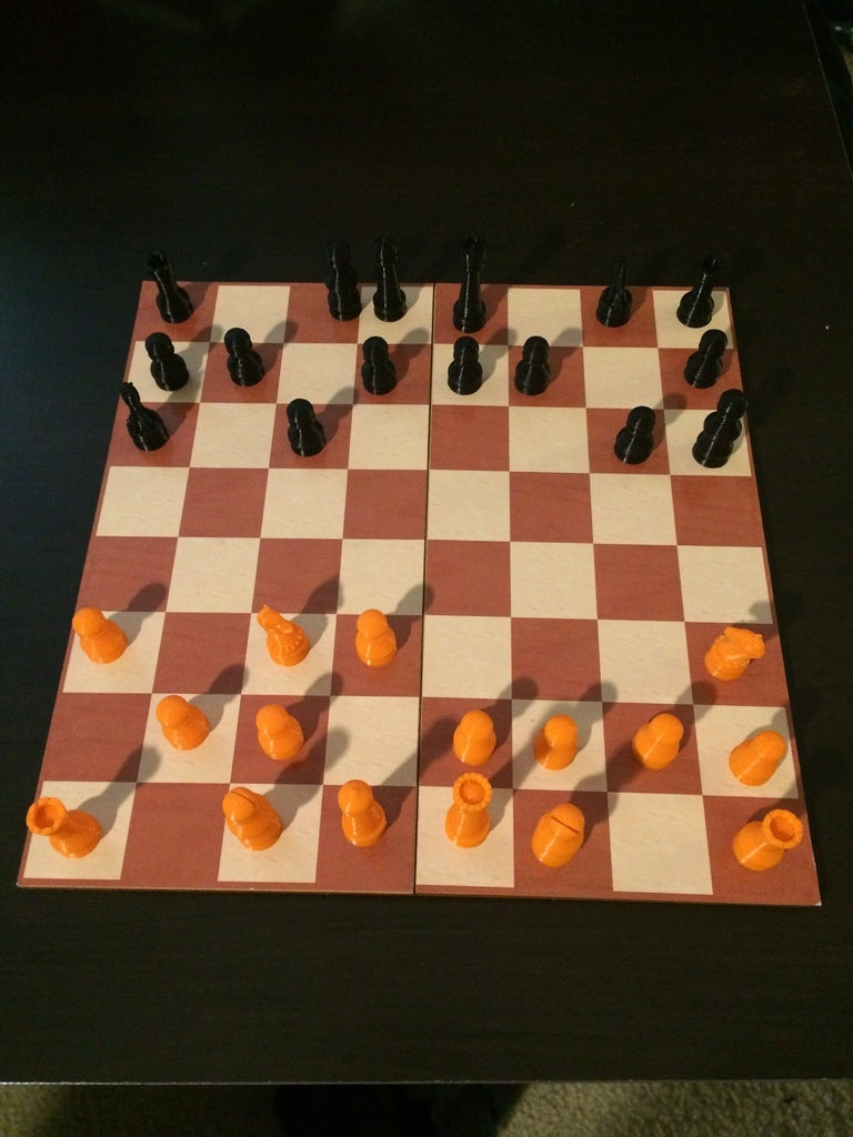 237dd8a6bf40b0c362f509f6e4c486dc_display_large.JPG Download free STL file Simple Chess Set • Model to 3D print, Absolute3D