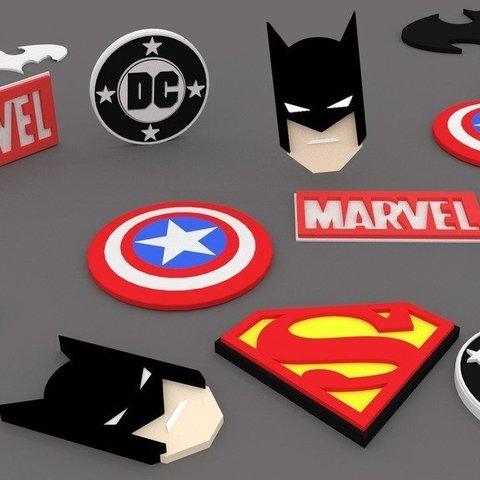 Télécharger fichier STL gratuit Le plus gros DC/Marvel Pack JAMAIS !!!!!!! • Plan pour impression 3D, Absolute3D