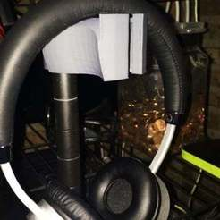 Descargar STL gratis Estante de alambre Gancho para auriculares, Absolute3D