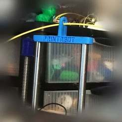 Free STL Printrbot Simple 1401 Z-Axis Stabilizer, Absolute3D