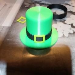 IMG_20200306_220702.jpg Télécharger fichier STL saint patrick's hat/ chapeau saint patrick • Design à imprimer en 3D, kaler