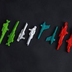 Impresiones 3D Armas del Director del Autobot Clásico/Universo, Printformers