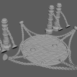 Descargar archivos 3D Disco de lucha de artes marciales, 3DRob