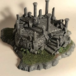 Download 3D printing models RPG Terrain Ruin, 3DRob