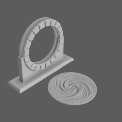 Download 3D printing templates Portal, 3DRob