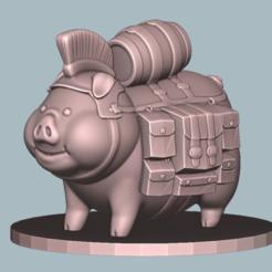 Télécharger objet 3D gratuit Cochon d'Inde, ClayRade