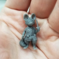 Download free STL Rat Rogue, ClayRade