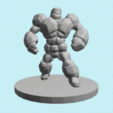 Download free STL files Stone Golem, ClayRade