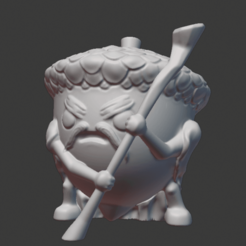 Download free 3D printing designs Acorn Druid, ClayRade