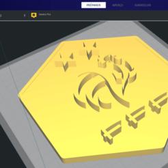 Sans titre.png Télécharger fichier STL Logo Equipe de france de football • Objet imprimable en 3D, guillaumeracine59